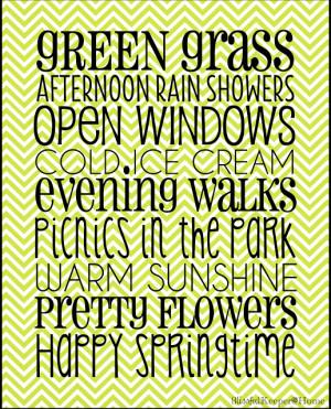 Ten Adorable Free Spring Printables