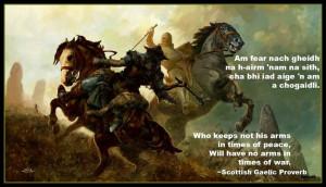 Scottish Gaelic Proverb