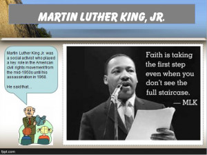 MLK Quotes Writing Practice: RACE Strategy