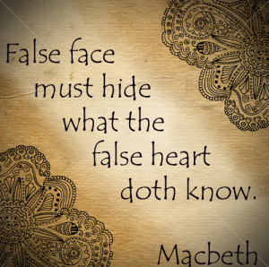 Shakespeare Quotes Macbeth written by Shakespeare