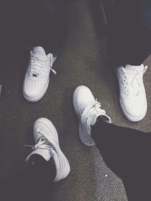 ... white style luxury nike urban sneakers trill nike air force trillin