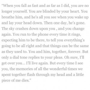 Falling fast and hard for a guy
