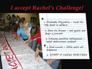 Part One -Inspired by Rachel's Challenge art students at Roxbury ...