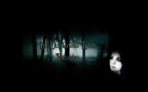 Background Dark Gothic Beauty Quotes