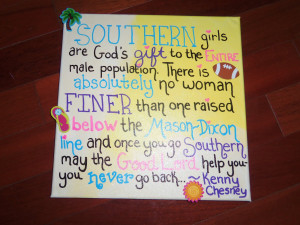 DIY: Southern Women Canvas Print