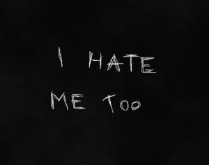 depression self hate
