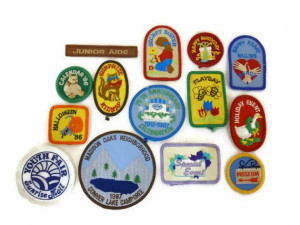Girl Scout Brownie Badges NEVER USED 1986 Lot of by SheLeftUsThis, $49 ...