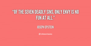 Seven Deadly Sins Quotes