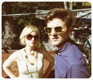 Leslie Knope and Ben Wyatt. Future President...and her First Gentleman ...