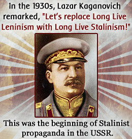 Stalinism and the Use of Propaganda by Joseph Stalin