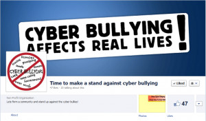 Cyber bullying has gone on far far to long and people have allowed it ...