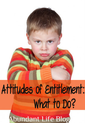 Entitlement Attitude