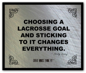 Lacrosse Poster and Quote #001