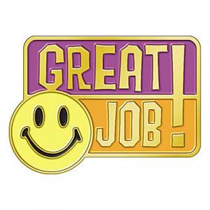Great Job Sticker