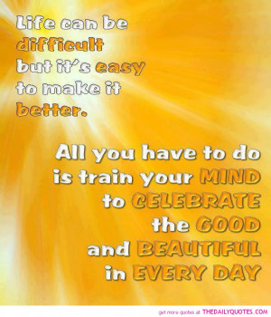 Good Beautiful Day Quote...