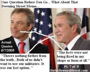 Actual quotes from President Bush and Tony Blair after being asked ...
