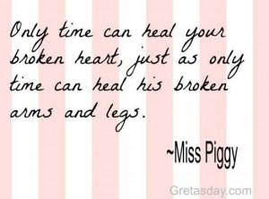 Ha! Gotta love Miss Piggy