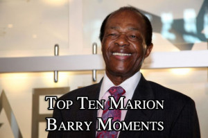 Marion Barry arrested
