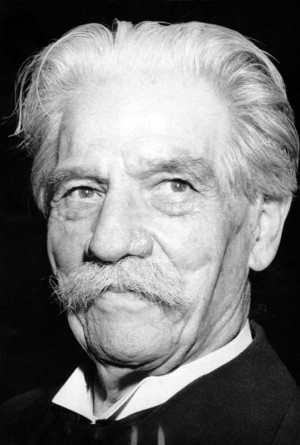 ... of Dr. Albert Schweitzer - Missionary, Theologian & Medical Doctor
