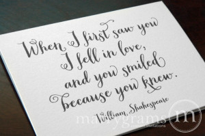 Quotes For New Bride And Groom ~ Popular items for quote on a card on ...