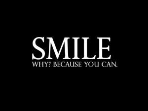 happy, life, quotes, smile, text