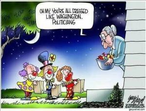 Good old-fashioned politician bashing!