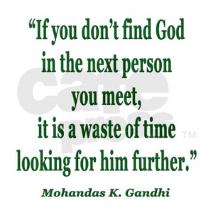gandhi god quote