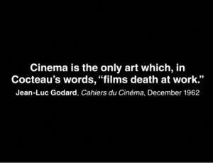 cinema, cocteau, jean cocteau, quote, text, the eternal present ...