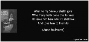 More Anne Bradstreet Quotes