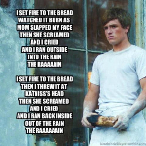 Set Fire to The Bread ~ Hunger Games Parody x) by HayleeR5