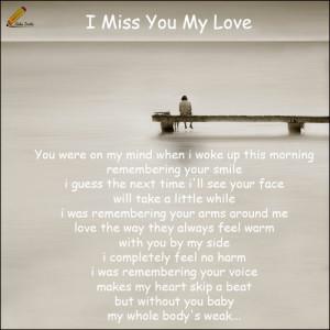 Missing Love.
