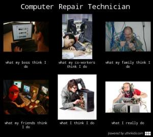 Computer Technician Meme