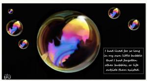 Bubbles quote #1