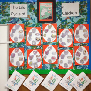 Horton Hatches the Egg bulletin board