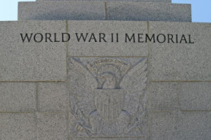 National World War II Memorial on the Mall in Washington, DC