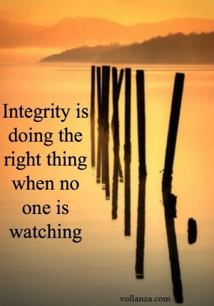 Inspirational Quotes About Integrity