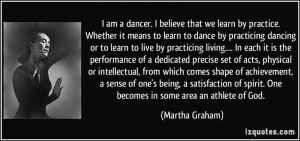 Am A Dancer Quotes I am a dancer.