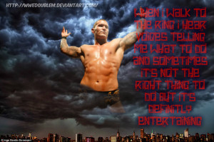 Randy Orton quote wallpaper by WWEDoubleM