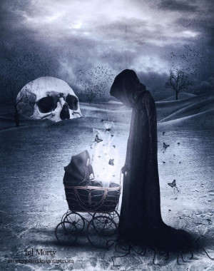 Scary Quotes About Death Creepy, dark art, scary, death
