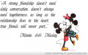 Minnie And Mickey Mouse Quote