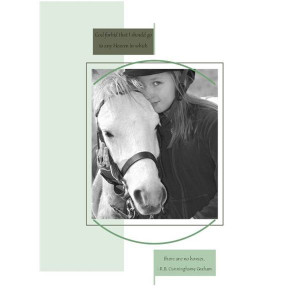 Sympathy Card for a Horse Owner