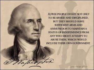 George Washington quote (courtesy thegatewaypundit.com)