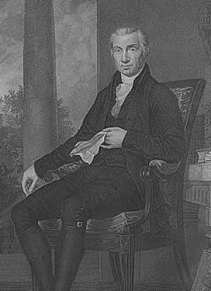 James Monroe, Fifth President of the United States. Painted by C.B ...