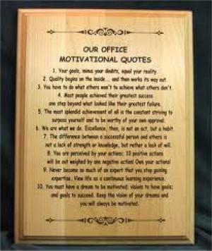 ... Sales Quotes, Qpbls Office Plaques Motivation, Sales Quote Ask