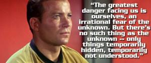 captain james t kirk quotes