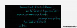 Love Like Crazy- Lee Brice Cover Comments