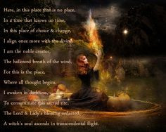 ... Wiccan, Pagan, Affirmation, Chant, Spell, Blessing, Quote, Poem,Witch