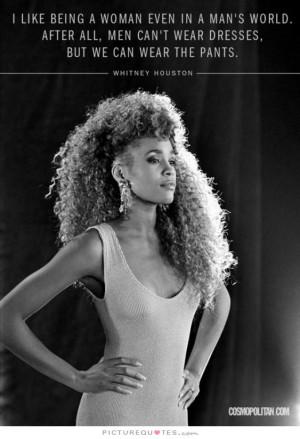 Woman Quotes Men Vs Women Quotes Whitney Houston Quotes