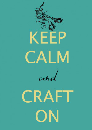 Oh, how I love Crafting!