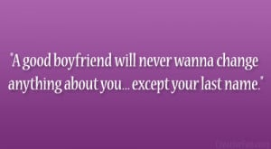 Good Quotes For Your Boyfriend